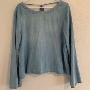 Anthropologie flowy top